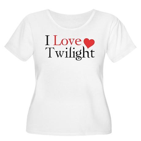 I Love Twilight Women's Plus Size Scoop Neck T-Shi