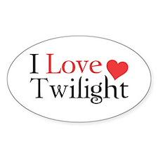 I Love Twilight Decal