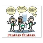 Fantasy fantasy Small Poster