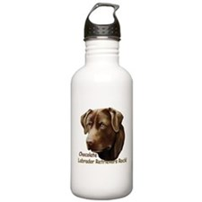 Chocolate Labs Rock Water Bottle