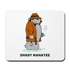 Shady Manatee Mousepad