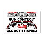 """Use Both Hands!"" Car Magnet"