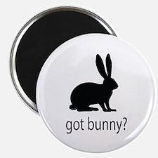 """Got bunny? 2.25"""" Magnet (100 pack)"""