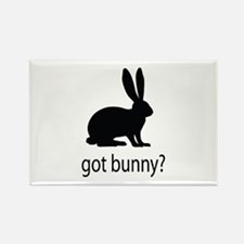 Got bunny? Rectangle Magnet