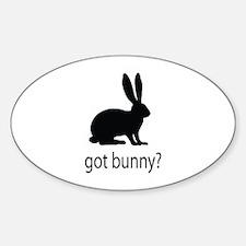 Got bunny? Bumper Stickers