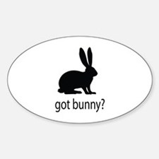 Got bunny? Decal