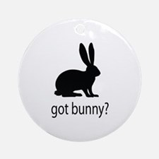 Got bunny? Ornament (Round)
