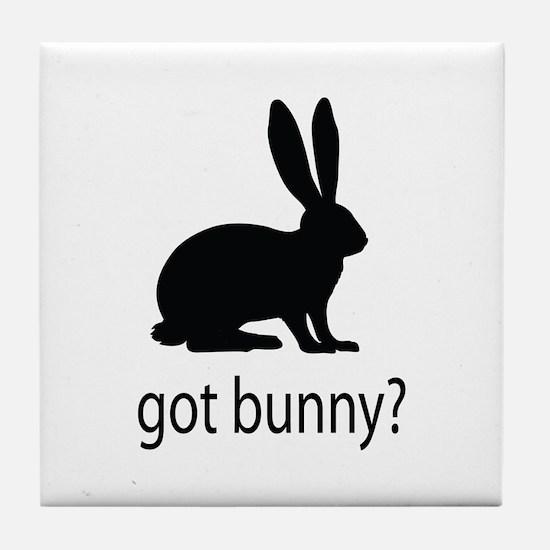 Got bunny? Tile Coaster