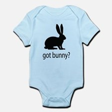 Got bunny? Infant Bodysuit
