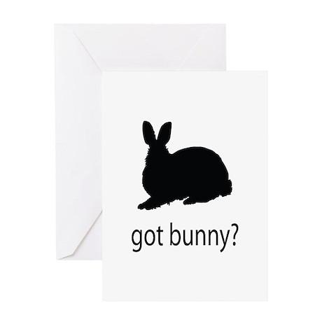 Got bunny? Greeting Card