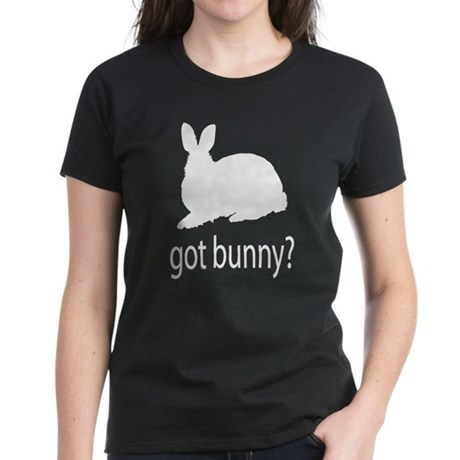 Got bunny? Women's Dark T-Shirt