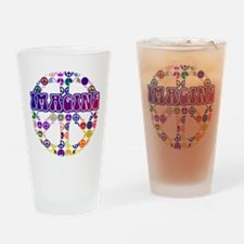Imagine Peace Drinking Glass