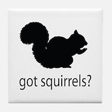 Got squirrels? Tile Coaster