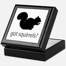 Got squirrels? Keepsake Box