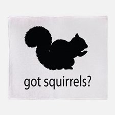 Got squirrels? Throw Blanket