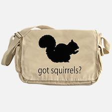 Got squirrels? Messenger Bag
