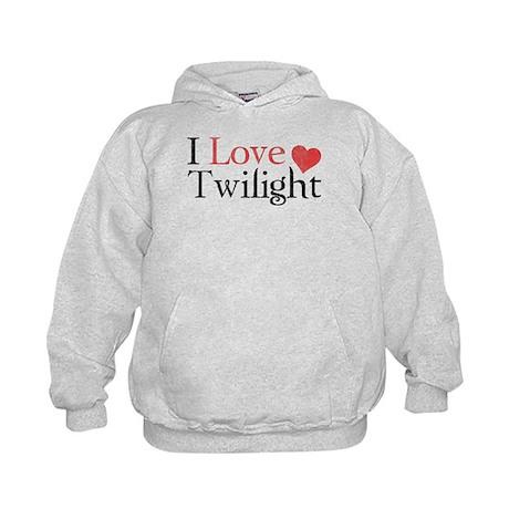 I Love Twilight 2 Kids Hoodie