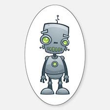 Happy Robot Decal