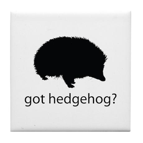 Got hedgehog? Tile Coaster