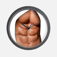 Ripped Abs Wall Clock