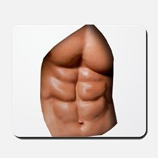 Ripped Abs Mousepad