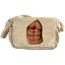 Ripped Abs Messenger Bag
