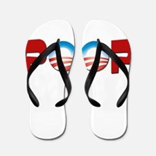 Unique President race Flip Flops