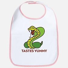 Honey Badger Cobra Tastes Yummy Bib