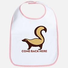 Honey Badger Come Back Here Bib