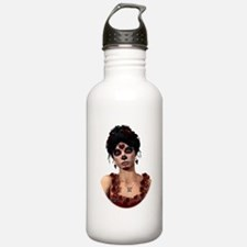 Day of the Dead Crimson Eveni Water Bottle