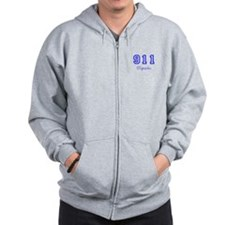 Unique Dispatcher Zip Hoodie