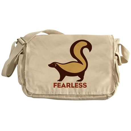 Honey Badger Fearless Messenger Bag