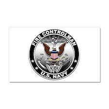 USN Fire Controlman Eagle FC Car Magnet 20 x 12