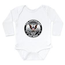 USN Fire Controlman Eagle FC Long Sleeve Infant Bo