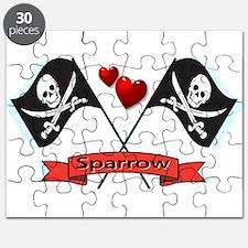 I heart Sparrow Puzzle