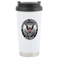 USN Hospital Corpsman Eagle H Travel Mug
