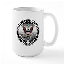 USN Hospital Corpsman Eagle H Mug