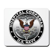 USN Hospital Corpsman Eagle H Mousepad