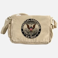 USN Hospital Corpsman Eagle H Messenger Bag