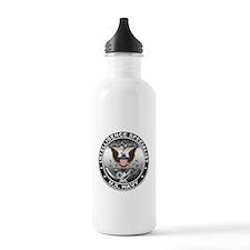 USN Intelligence Specialist E Water Bottle