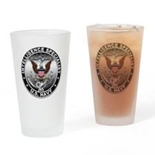 USN Intelligence Specialist E Drinking Glass