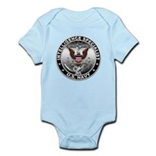 USN Intelligence Specialist E Infant Bodysuit