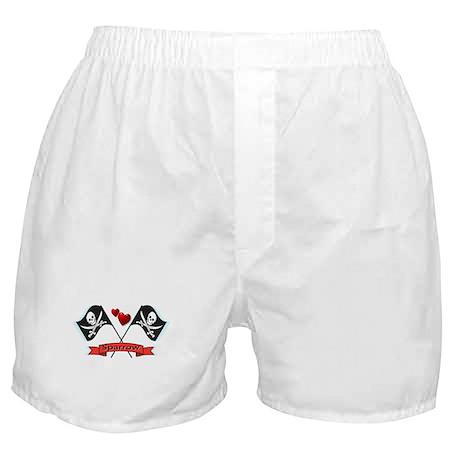 I heart Sparrow Boxer Shorts