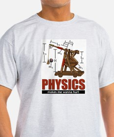 physics_hurl3-b T-Shirt