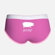 Got pig? Women's Boy Brief