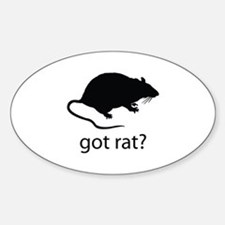 Got rat? Decal