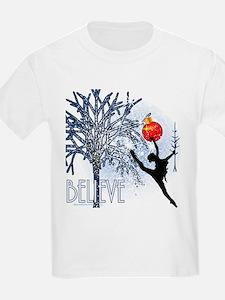 Dancers Christmas Tree by DanceShirts.com T-Shirt