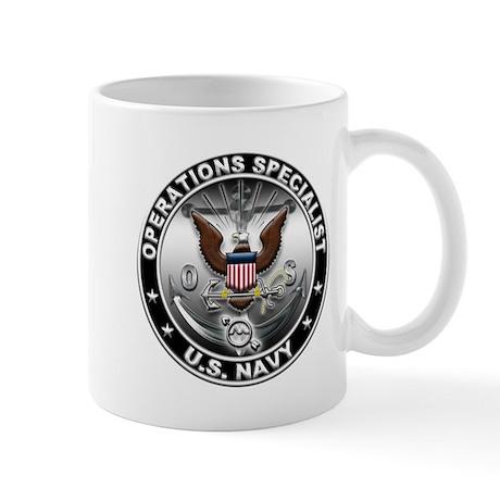 USN Operations Specialist Eag Mug