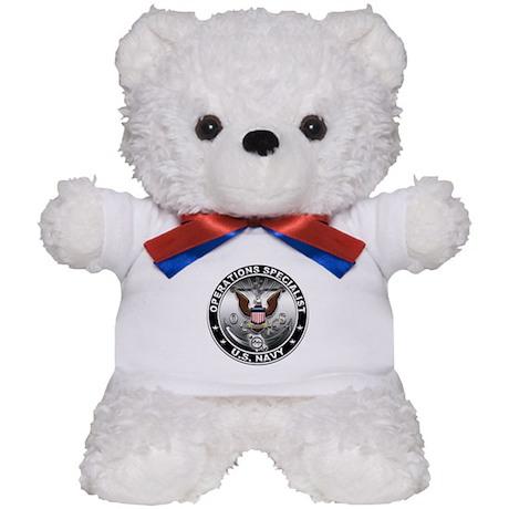 USN Operations Specialist Eag Teddy Bear