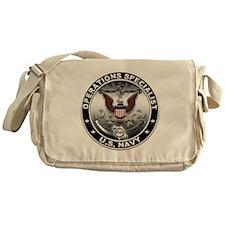 USN Operations Specialist Eag Messenger Bag